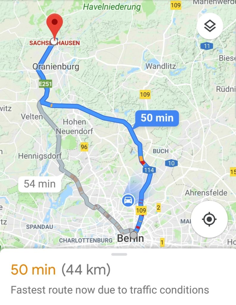 Driving From Berlin To Sachsenhausen