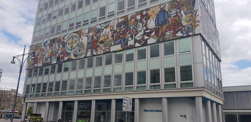 teachers house art Berlin Architecture Wars Tour